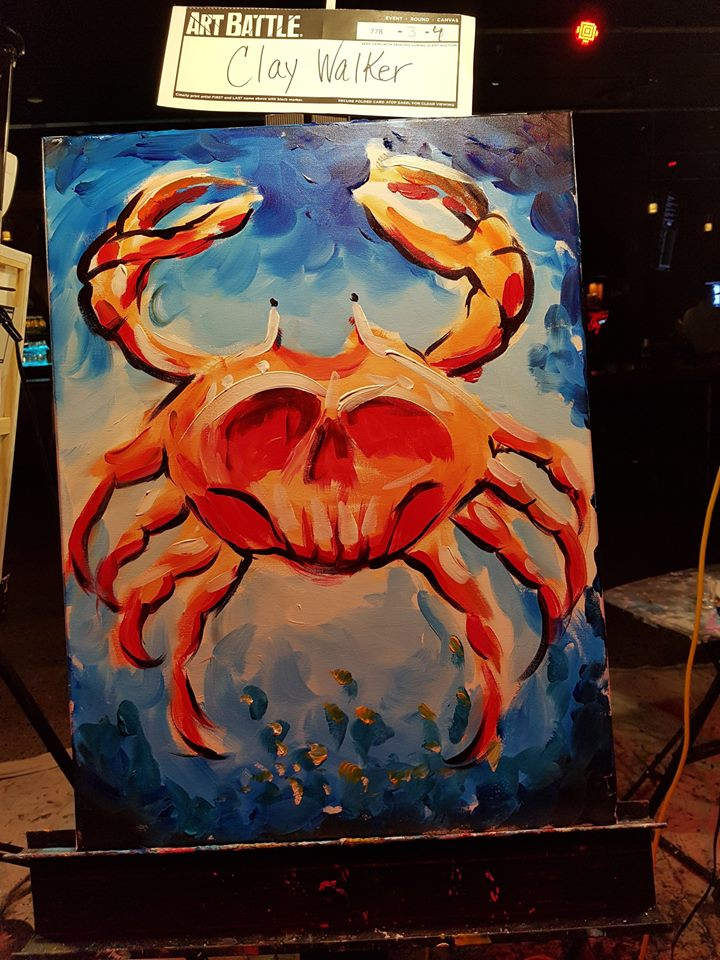 Crab — Clay Walker Art