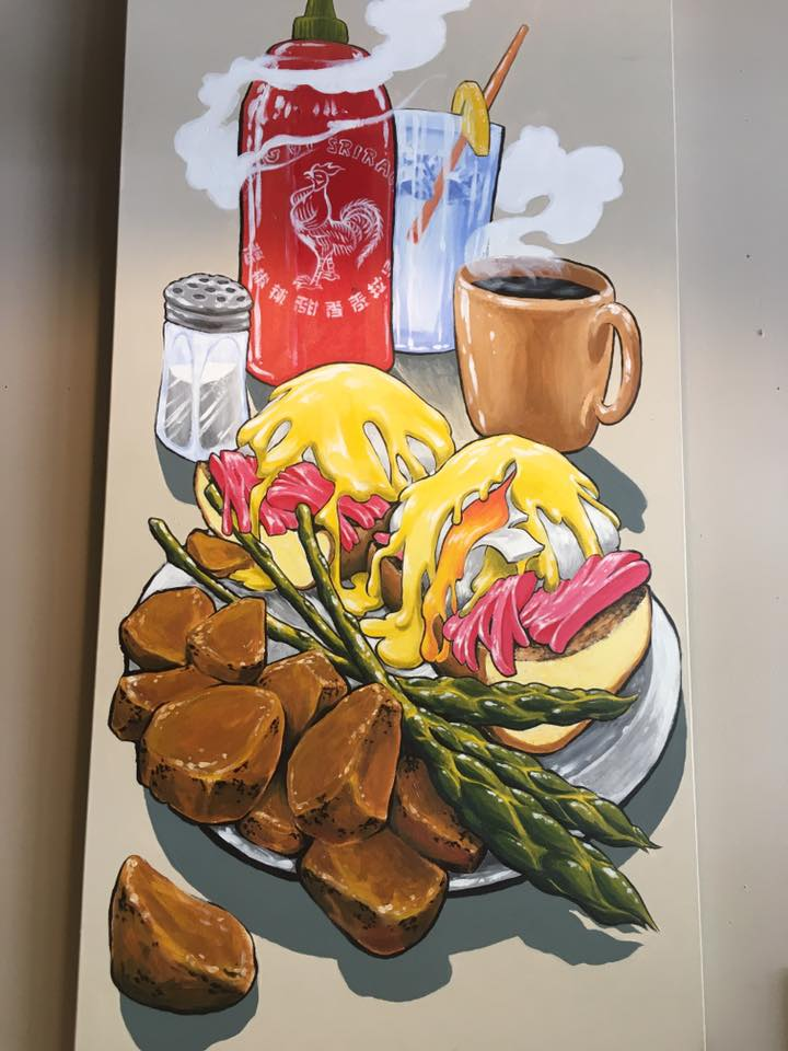 Eggs Benedict — Clay Walker Art