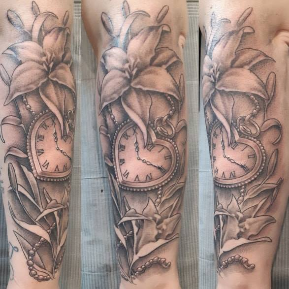 Lillies — Clay Walker Tattoo
