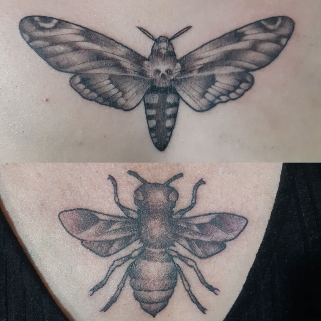 Giant Bug — Clay Walker Tattoo