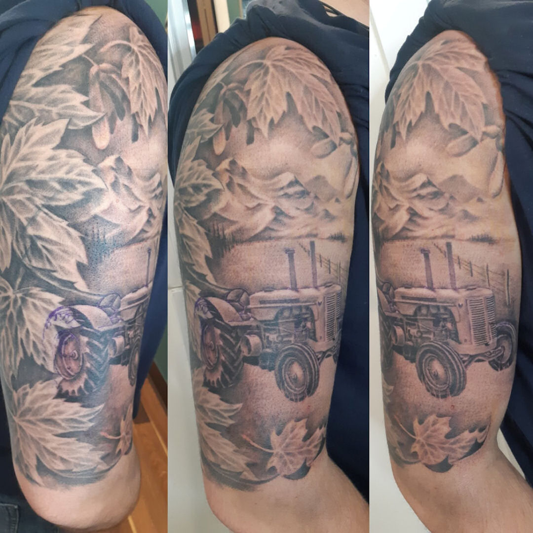 Tractor — Clay Walker Tattoo