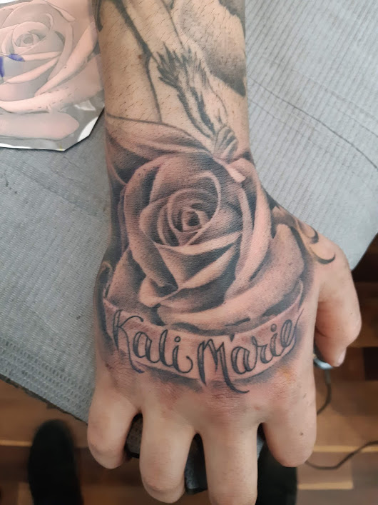Rose — Clay Walker Tattoo