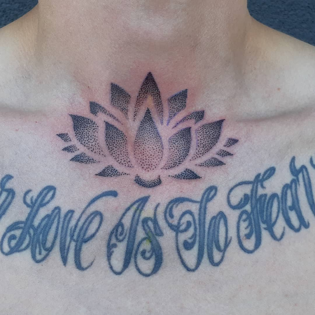 Lotus Add On — Clay Walker Tattoo
